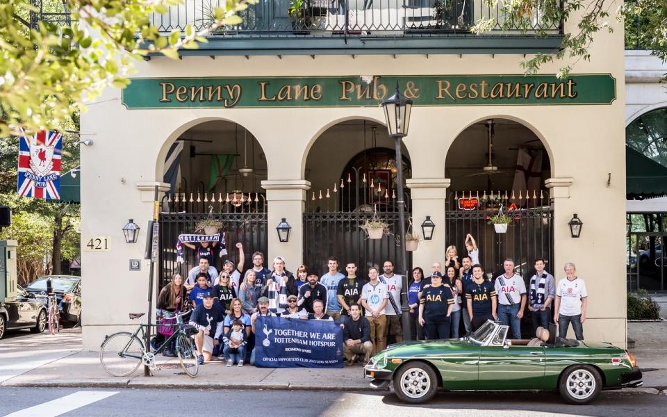 richmond spurs, rva spurs, rvaspurs, penny lane pub