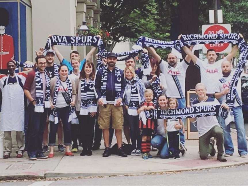 richmond spurs scarves