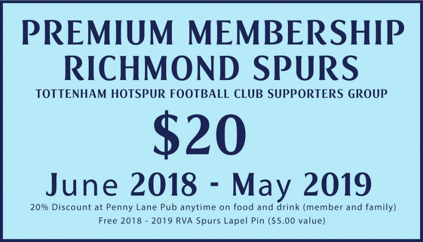 richmond spurs 2018-2019 membership